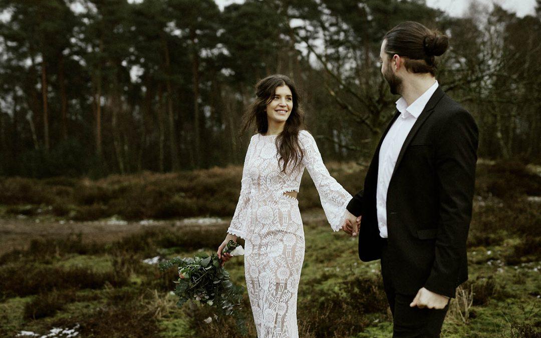 Hülya & Marvin – winterliches After Wedding Shooting in Köln
