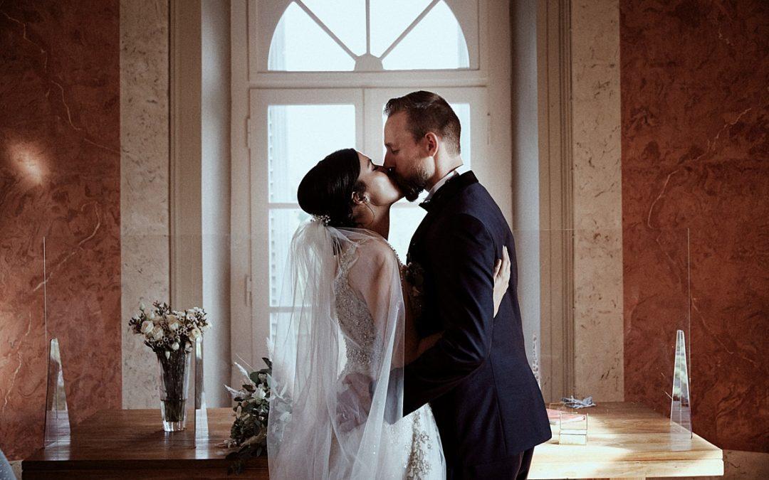 Betül & Sven – standesamtliche Hochzeit im Elisenturm Wuppertal